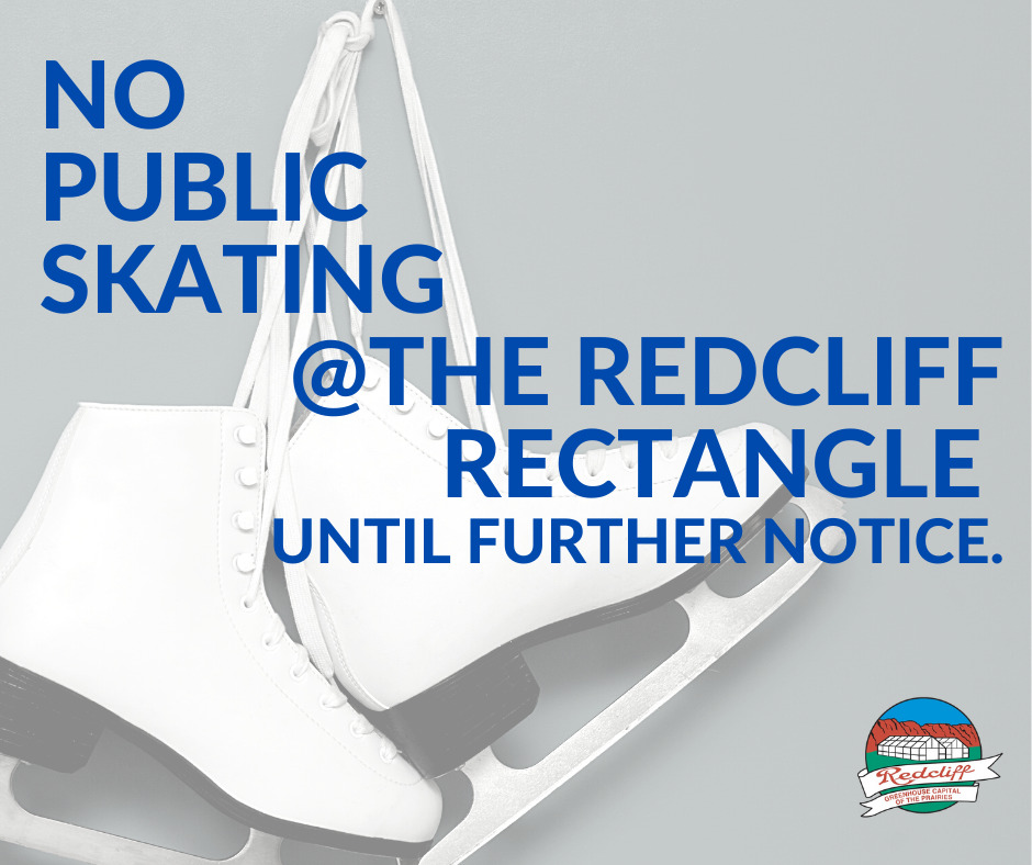 Public skating at the Rectangle cancelled until further notice