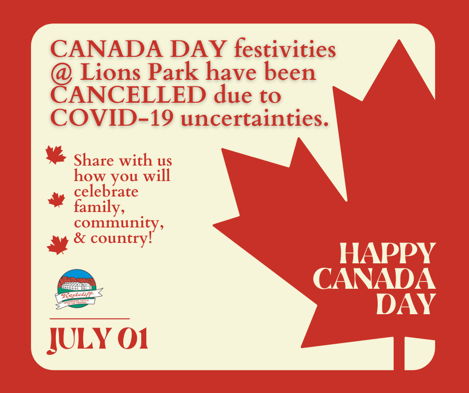 Canada Day 2021 Festivities Cancelled