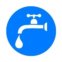 Water Coming out of Faucet
